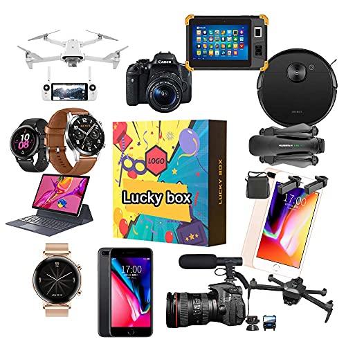 ZDSKSH Mystery Box Es Un Buen Regalo Los Últimos Teléfonos Móviles, Drones, Relojes Inteligentes: Todo Lo Posible: Todos Los Artículos Inteligentes