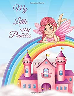 My Little Princess: Coloring Book for Girls 4-8
