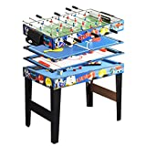 Deluxe 48in/4Ft 4 in 1 Top Game Table Multi-function Steady Combo...