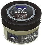 Woly Woly Shoe Cream, Betún Zapatos, Amarillo (Lemon), 50 ml