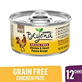 Purina Beyond Grain Free, Natural Pate Wet Cat Food, Grain Free...