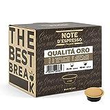 Note d'Espresso - Qualità Oro - Cápsulas de Café para las Cafeteras...