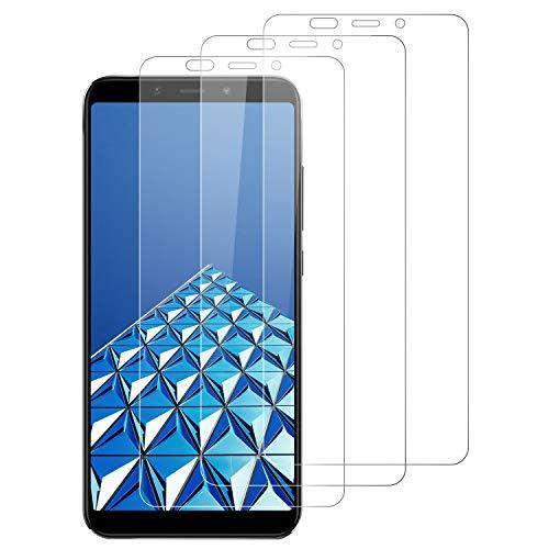 DOSNTO 3-Unidades Protector de Pantalla para Xiaomi Mi A2 Cristal Templado, [9H Dureza] [Resistente a Arañazos][Kit Fácil de Instalar][Sin Burbujas] Vidrio Templado Screen Protector para Xiaomi Mi A2