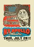 World of Art Vintage James Brown Live at New York Apollo