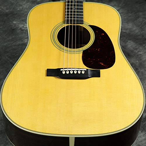 Martin 2017 D-28 Dreadnought Acoustic Guitar Natural