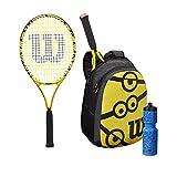 Wilson Minions 25 Set de raquetas de tenis, Para niños de 9 a 10 años,...