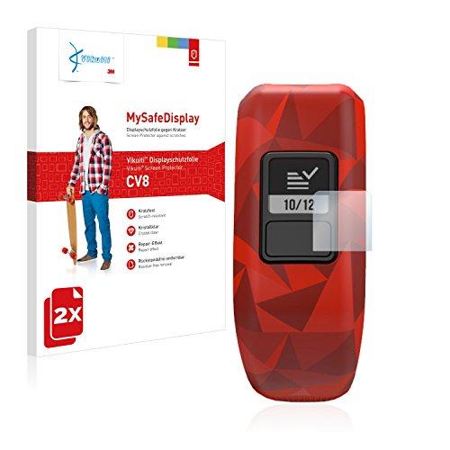 2X Bildschirmschutzfolie CV8 von 3M kompatibel mit Garmin Vivofit jr. Schutzfolie Folie