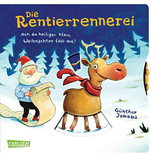 Die Rentierrennerei: Ach du heiliger Klaus, Weihnachten fällt aus!