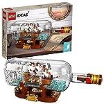 LEGO Ideas-Barco en una botella, set de ...