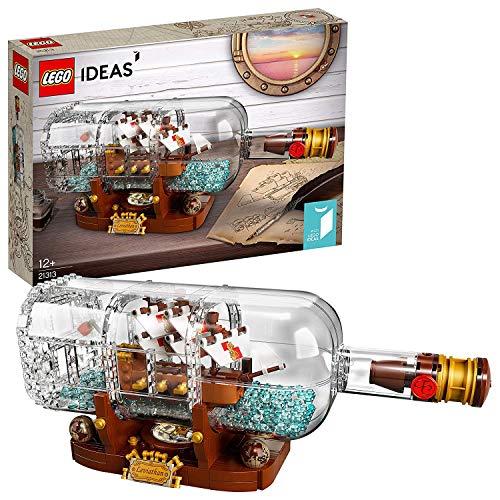 LEGO 21313 LEGO Ideas Nave in bottiglia (Ritirato dal Produttore)