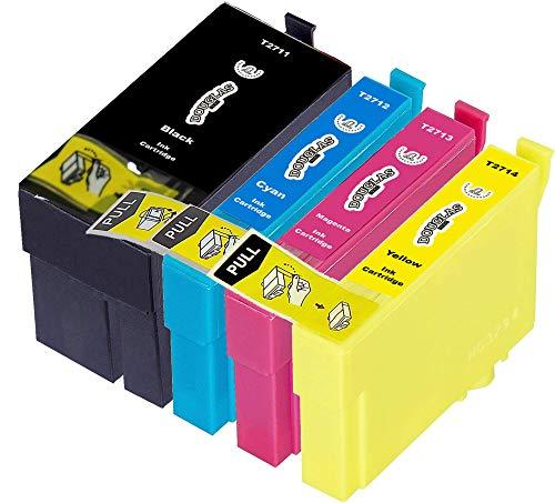 4 Douglas Inks Cartuchos de Tinta compatibles con Epson 27XL Epson 27 Epson...