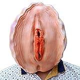 rgfhtyrgyh Neuheit Kostüm Cosplay Halloween Party Maske Latex Muschel Maske Kopfbedeckung Zubehör...
