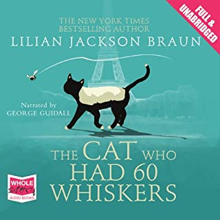 The Cat Who Had 60 Whiskers audiobook cover art