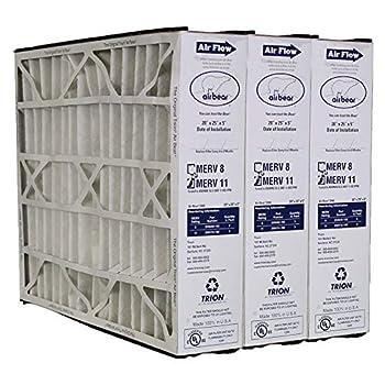 Trion Air Bear 259112-102 MERV 11 Filters  3-Pk  - 20x25x5