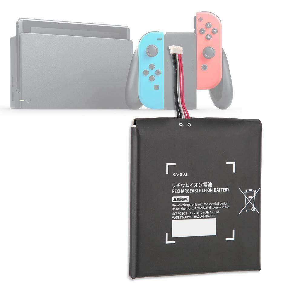 Tangxi para Nintendo Switch Battery Pack, Game Console 4310mAh Kit de Repuesto de Batería Interna para Nintendo Switch con 2 Destornilladores: Amazon.es: Electrónica
