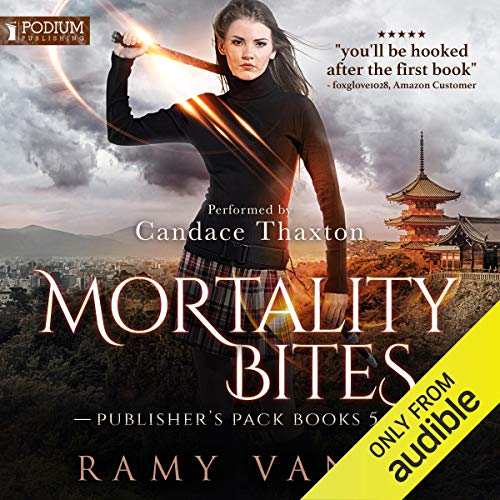 Mortality Bites: Publisher's Pack 3 audiobook cover art