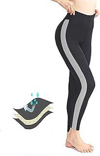 comprar comparacion ROOTOK Leggings Mujer Fitness Cintura Alta Pantalones Deportivos Mallas para Running Training Estiramiento Yoga y Pilates ...