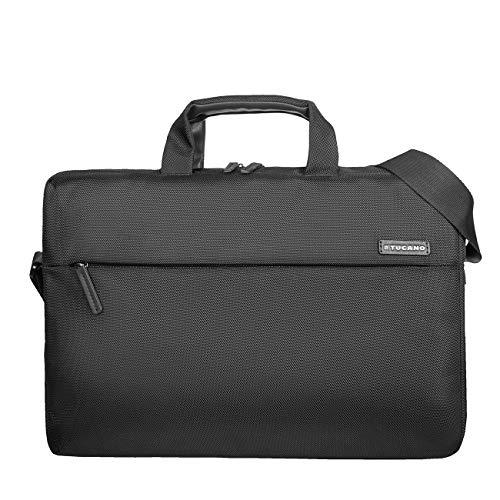 Tucano Free & Busy notebook case 38 cm (15') Messenger case Black