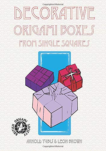 Decorative Origami Boxes From Single Squares