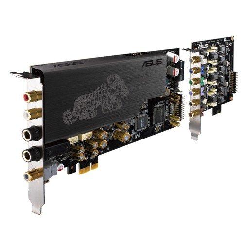 ASUS 90YA00NN-M0UA00 - Essence STX II 7.1 - PCI Express, 6.3 mm, RCA, S/PDIF, swarz