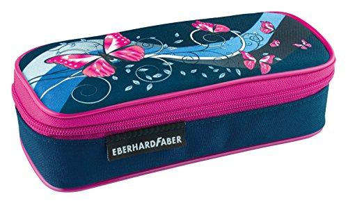Eberhard Faber 577539 Schlamperbox Schmetterling, Dunkelblau