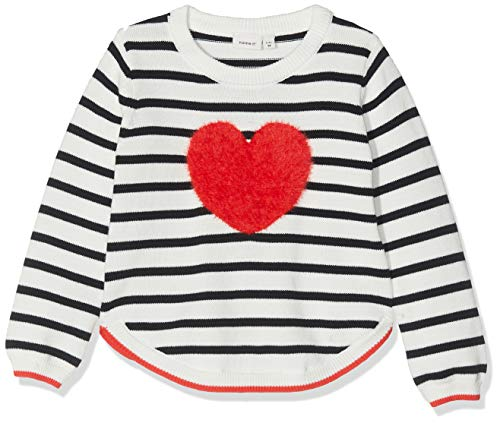 NAME IT baby-meisjes pullover Nmfluvifa Ls Knit Box