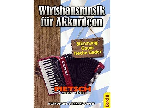 Wirtshausmusik für Akkordeon - Band 11