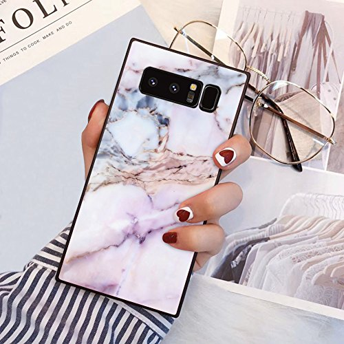 PERRKLD Samsung Galaxy Note 8 Square Edge Case Heavy Duty Protection...