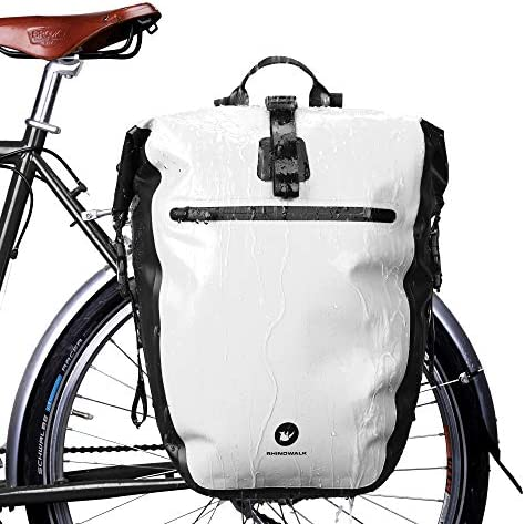 Huntvp 27L Bike Pannier Bag Backpack Multifunctional Bicycle Bag Cycling Bicycle Rear Seat Trunk product image