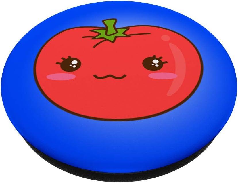 Bonito regalo vegetariano vegetariano naranja fruta PopSockets Agarre y Soporte para Tel/éfonos y Tabletas