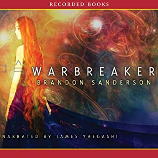 Warbreaker                   By:                                                                                                                                 Brandon Sanderson                               Narrated by:                                                                                                                                 James Yaegashi                      Length: 24 hrs and 46 mins     6,147 ratings     Overall 4.3