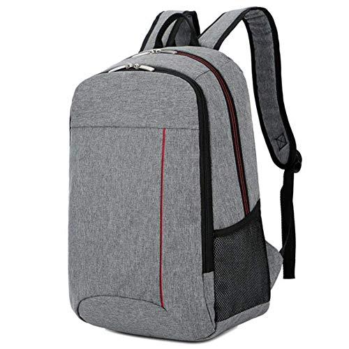 ZXL herenrugzak - Business Travel Bag - laptoptas, zwart/grijs 43cm*30cm*14cm grijs