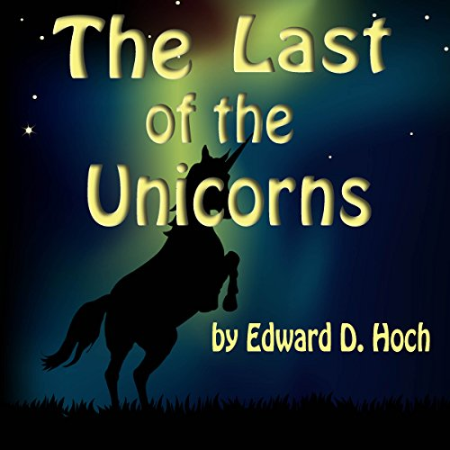 The Last of the Unicorns audiobook cover art
