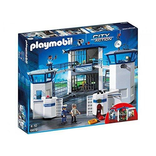Playmobil 6872–Centrale di Comando della Polizia con Prigione
