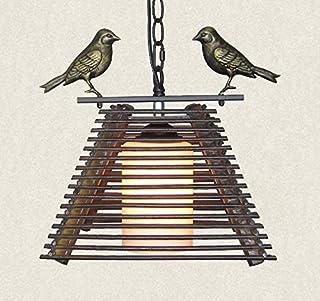Handmade Wooden Single Bird Chinese Chandelier (Design : A)