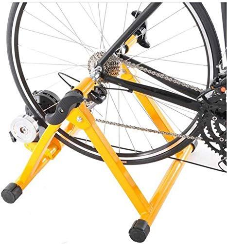 Hyl Rodillo Bicicleta,Fluid Bike Trainer Stand Entrenador magnético de la reducción del...