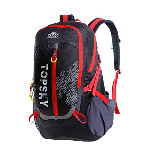 TOPSKY 40L Unisex Mountaineering Outdoor Travel Riding Hiking Camping cycling Backpack (Black) Sell at loss