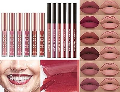 6 Pcs Liquid Lipstick