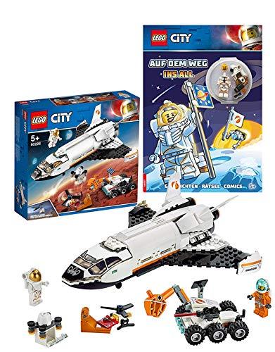 LEGO 60226 - City Mars-Forschungsshuttle, Bauset City – Auf dem Weg ins All Taschenbuch