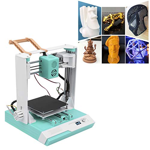 3D-Drucker, 12 V, 60 W 3D-Druckerzubehör Set 0,4 mm 3D-Druckerdüse 3D-Druckertools 100 x 100 x 100 mm(EU-Stecker 110-240V)