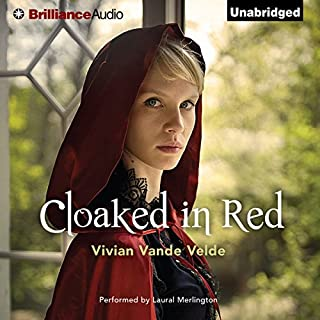 Cloaked in Red audiobook cover art