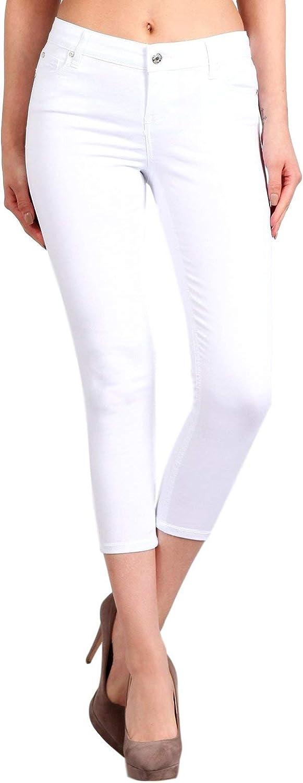 CelebrityPink Women's Mid Rise Ankle Skinny Capri Jeans CJ40158Z35