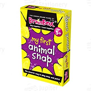 Brainbox My First Animal Snap Card Game