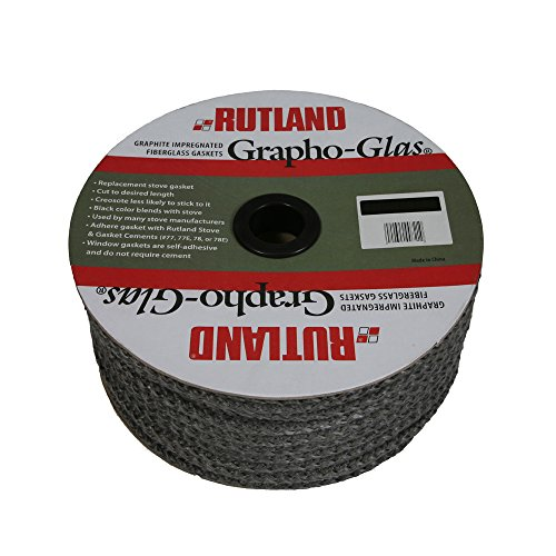 Rutland Products Grapho-Glas Gasket Spool-Rope-88, 88' x 1/2