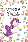 Kawaii Unicorn Journal: a fun unicorn themed 6 x 9 inch journal