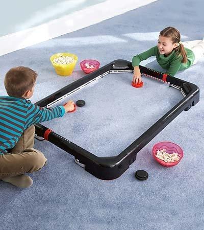 Simtec Powerband Air Hockey Tabletop Game