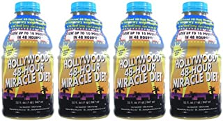 Hollywood 48-Hour Miracle Diet 4 Pack (32oz x 4)