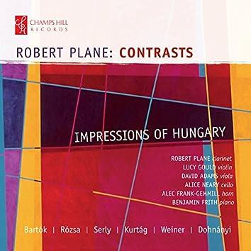 Robert Plane: Contrasts