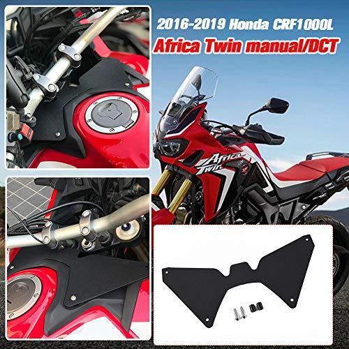 AHOLAA Motorrad Gabelschild Aufwind Windabweiser für CRF1000L CRF 1000 L CRF 1000L Africa Twin 2018 2019,Gabelschild-Afrika-Zweier-CRF1000L