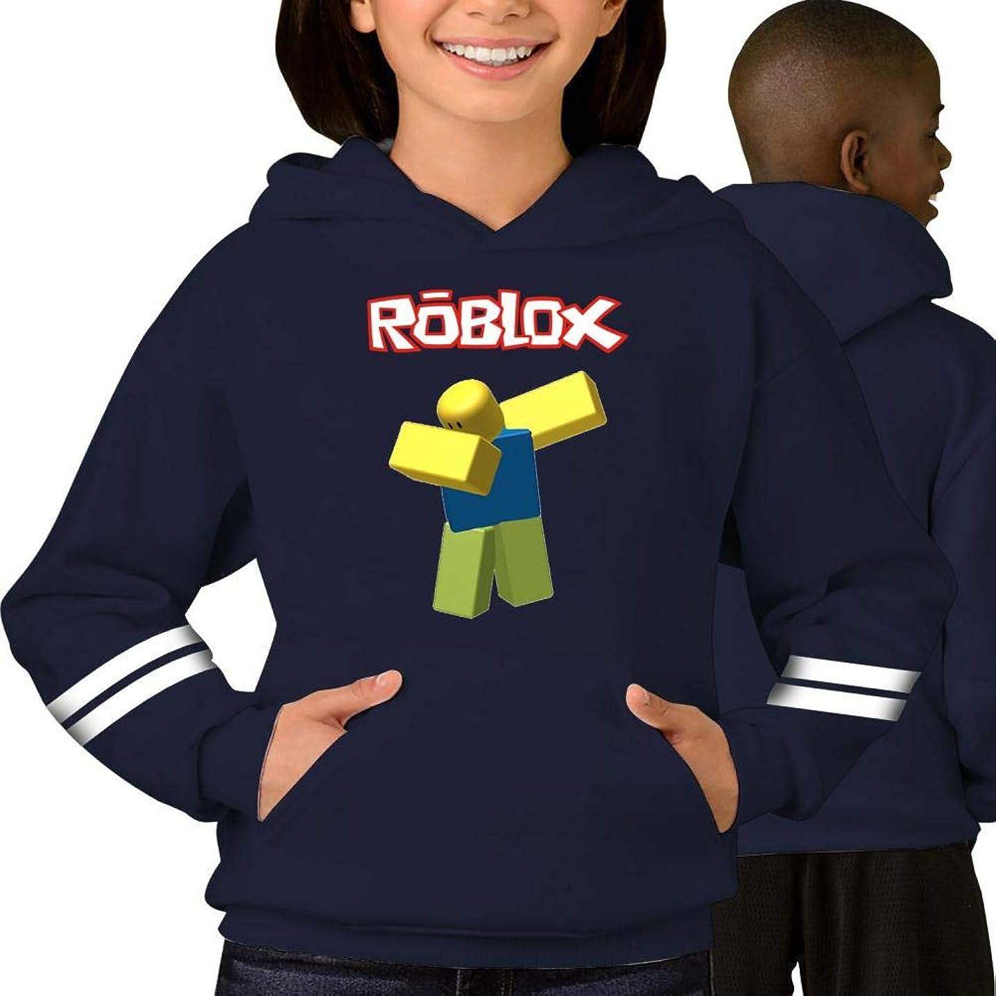Tougouqus rob-lox World Fashionable Adolescent Children Boys and Girls Hoodies